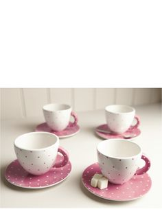 Sweet Home Tea Cup and Saucer Set | Very.co.uk