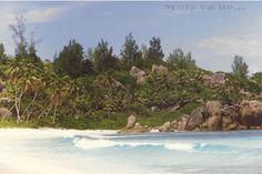 Una playa toda para nosotros #Molyvade...#viaje #Seychelles #RelaisChateaux  molyvade.blogspot.com