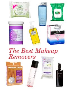 Our Favorite Makeup Removers for Every Budget -- click thru for product details