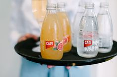 Blood Orange and Mineral Water - by CAPI Sparkling.