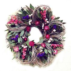 Price: $59.99 Display this wreath anywhere indoors so you can enjoy it all year…