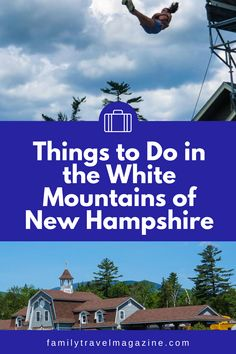 The White Mountains of New Hampshire are a beautiful and fun vacation destination for families, whether you are traveling in the summer, fall, winter, or spring. Here are the best things to do in the White Mountains with kids including the best lodging/hotels, attractions, activities, and restaurants. Best Vacation Spots, Best Places To Travel, Best Vacations, Vacation Destinations, Summer Fall, Fall Winter, Spring, Travel With Kids, Us Travel