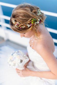 Blumen im Haar <3