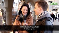 Easy German is the first set in a series of videos on Youtube that helps people learn different languages by interviewing normal people on the streets of a country.  Easy German Episode 26 - Was machst du heute?