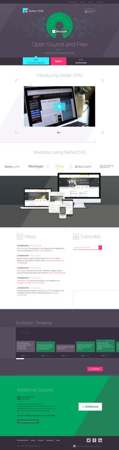 Unique Web Design, Better CMS #WebDesign #Design (http://www.pinterest.com/aldenchong/)