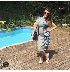 Linda linda com nosso maxi colete estampado a power @fernaandacarvalho , que é advogada, Personal Stylist e blogueira - @aboutstylebr 👊🏻 Amamos o look! 😍 #semprecoleteria #coleteria #colete #maxicolete #ootd #lookdodia #promo #sale #promoção www.coleteria.com.br
