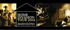 "I'm launching a big house concert pre-release tour this fall/winter, and I'm calling it the ""Home Invasion Tour 2014!"" That's right – I want to invade your home with beautiful music :) If you're interested in being a participating house concert host, please let me know! Click here for more details: http://www.gregorydouglass.com/house-concerts"