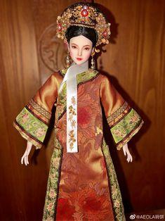 Chinese Fashion, Chinese Style, Japanese Traditional Dolls, Chinese Opera, Chinese Dolls, Chinese Clothing, Belgrade, Hanfu, Art Dolls