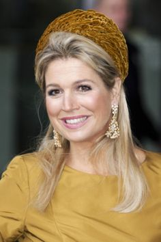 Queen Máxima, Oct. 18, 2013 in Fabienne Delvigne | The Royal Hats Blog