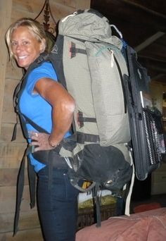 Bozeman, Montana  Backpacking is big! That is a heavy looking pack!