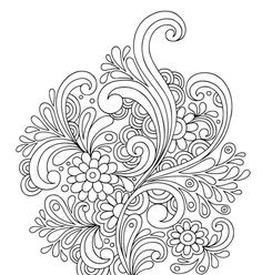 Floral Water Doodle - Doodle is Art