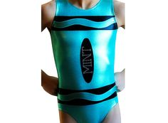 Gymnastics Leotard Girls Leotards Crayon Leo by AEROLeotards