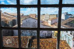 Vue sur la ville depuis le couvent de l'église São Francisco. Salvador de Bahia, Brésil © Clément Racineux / Tonton Photo