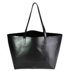 Mansur Gavriel Black Calf Tote Bag