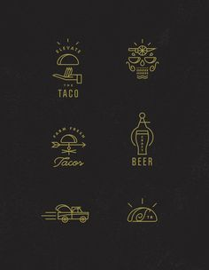 Icons / Scratch_taco_boutique_icons — Designspiration