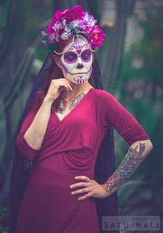 Headdress by Ladybirdylicious Photo by Satu Mali  Model Rogue Sweetheart