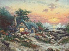 Thomas+Kinkade+Dies+-+Painter+of+Light