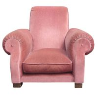 1940's inspired armchair. Cozy!