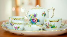 What famous Herend Porcelain Manufactory.