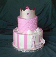 Princess Crown Cake for my Birthday!!!  @Cheryl Vandegrift