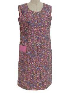 60s dress, purple (bob)
