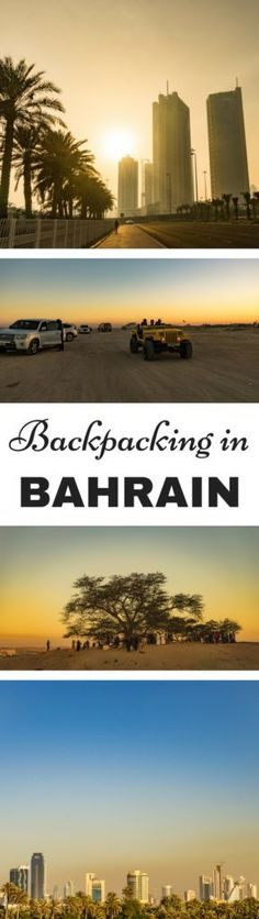 Backpacking in Bahrain. How to travel on a budget in Bahrain.
