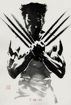 The Wolverine : Teaser Poster. I want this on my side of the office!