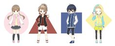 Sakurai Nana, Yagami Riku, Fujiwara Takeru, and Kohinata Hozumi - Prince of Stride: Alternative by Vikramjoti on pixiv