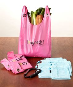 Loving this Pink Reusable Bag Family Set on #zulily! #zulilyfinds