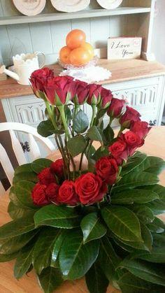 My valentine arrangment by Jane Harrison