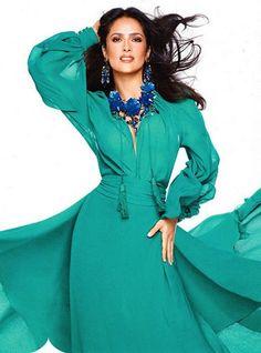 InStyle with Salma Hayek  #salmahayek #instylemagazine