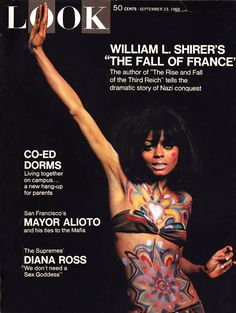 Diana Ross on Look Magazine cover