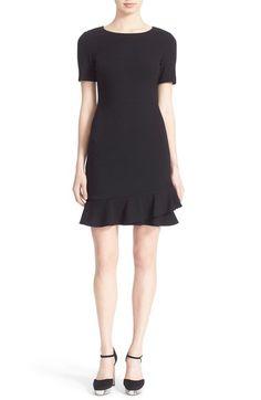 Diane von Furstenberg 'Serafina' Short Sleeve Fit and Flare Dress available at #Nordstrom