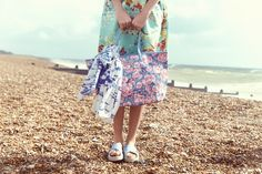 Blossom Bunch Large Trimmed Tote * Cath Kidston Spring Summer 2016