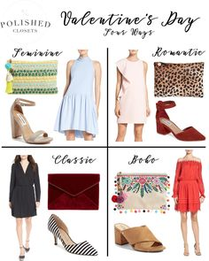 What to Wear on Valentine's Day // www.polishedclosets.com
