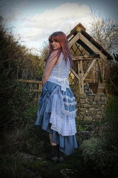 Alice in Wonderland costume Blue afternoon tea by OshunCreations, £94.99