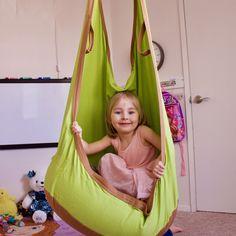 Outdoor Children Brand Hammock Garden Furniture Swing Chair Indoor Hanging Seat Child Swing Seat Lifts Patio Portable Furniture #Affiliate
