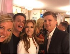 April 21 2015 PreEmmy Party Sharon Christian Tracey Thad
