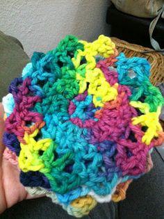 Treasures Made From Yarn: Coaster Pattern