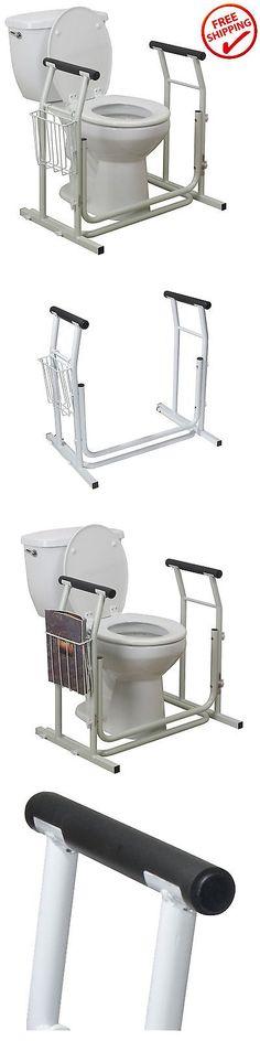 Handicap Bathroom Rail Height handles and rails: safety grab bar rail frame bathroom toilet