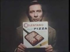 Celentano Pizza ad w/Barry Farber, 1980 The radio host makes a pitch for the frozen pizza.