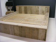 houten tweepersoonsbed maken - Google zoeken