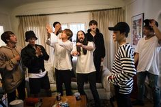 BTS and Steve Aoki's at his house in Las Vegas