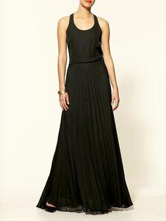Parker - Pleated Cami Premium Maxi Dress