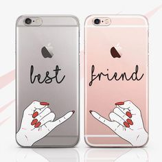 Iphone xs max ipod touch 6 7 8 plus x Best Friend Cases, Bff Cases, Friends Phone Case, Diy Phone Case, Cute Phone Cases, Iphone Phone Cases, Best Friends, Iphone Ringtone, Iphone Charger
