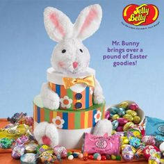 Easter Bunny's Treat Tower