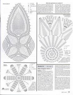 Crochet Doilies from the web 2011 - diamondinapril - Álbuns da web do Picasa