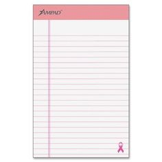 TOPs Products Breast Cancer Awareness Writing Pads (ESS20078) Ampad http://www.amazon.com/dp/B000FDPETO/ref=cm_sw_r_pi_dp_ekKiub1NY198G