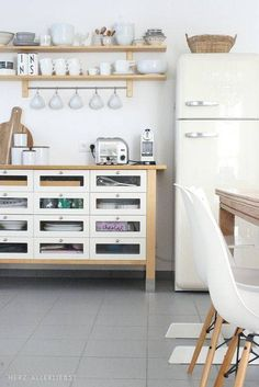 Best All White Room Ideas White Wood Eclectic Kitchen
