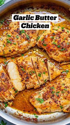 Yummy Chicken Recipes, Healthy Baked Chicken Breast Recipe, Chicken Breats Recipes, Meat Recipes, Healthy Chicken Thigh Recipes, Vegetarian Recipes, Easy Baked Chicken, Cooking Recipes, Skillet Chicken